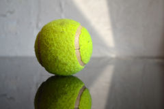 Green Tennis Ball Royalty Free Stock Photos