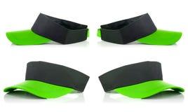 Green tennis cap Royalty Free Stock Photography