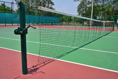 Green tennis court Stock Photography