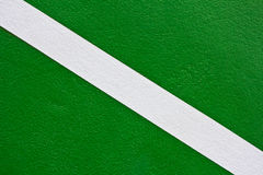 Green Tennis Court surface Stock Image
