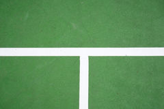 Green tennis court surface Royalty Free Stock Photo