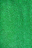 Green Terry Cloth Fabric. Texture Royalty Free Stock Images