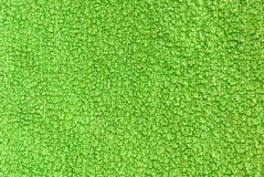 Green terry texture Royalty Free Stock Photo