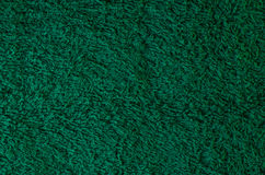 Green terry towel Royalty Free Stock Image