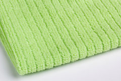 Green terry towel Royalty Free Stock Photography