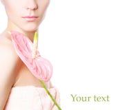 Green text Royalty Free Stock Photos