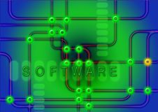 Green, Text, Technology, Neon stock images