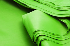 Green textile Royalty Free Stock Photo