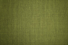 Green textile background Stock Images