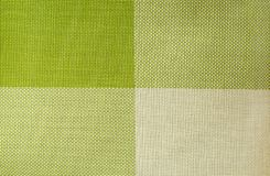 Green textile background Stock Photo