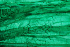 Green textile close-up Stock Image