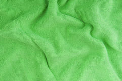 Green textile Stock Image