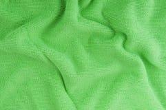 Green textile Stock Image