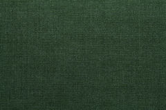 Green textile texture. Green background Royalty Free Stock Images