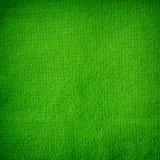Green textile texture Royalty Free Stock Photos
