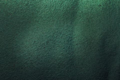 Green textile texture Royalty Free Stock Photography
