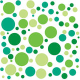 Green texture. Texture with different green isolated circles Stock Image
