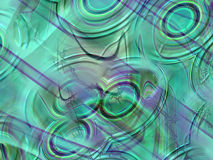 Green texture. Computer generated green texture stock illustration