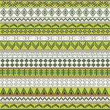 Green texture with African motifs Stock Photography
