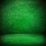 Green texture or blank stage space Royalty Free Stock Photography
