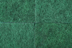 Green texture cellulose foam sponge Stock Images