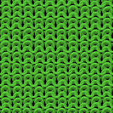Green texture of knitwear pattern Stock Image