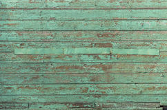 Green texture old wooden planks texture Royalty Free Stock Photo