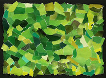 Green texture of torn paper Royalty Free Stock Photo