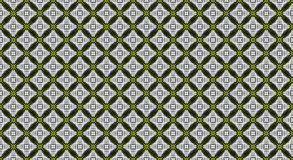 Green textured geometric ornamental pattern. For decor Royalty Free Stock Photography