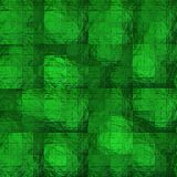 Green textured glass Stock Photography