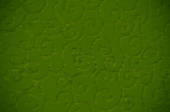 Green textured surface Stock Photos
