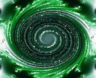Green textured swirl royalty free stock photos