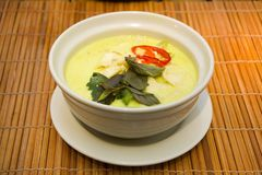 Green Thai Curry Stock Image