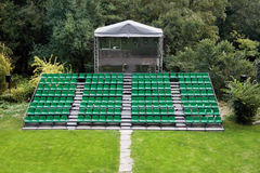 Green theater Royalty Free Stock Image