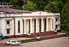 Green Theatre in Atazhukinskiy garden, Nalchik Stock Photography