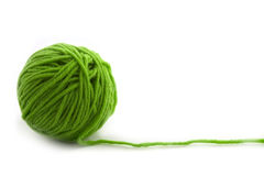 Green thread Royalty Free Stock Images