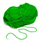 The green thread Stock Photography