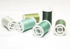 Green thread Stock Image