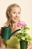 Green Thumb Royalty Free Stock Photography