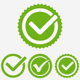 Green tick mark. Check mark icon. Tick sign. Green tick approval vector. Green tick mark. Check mark icon. Tick sign. Green sign approval isolated on white stock illustration
