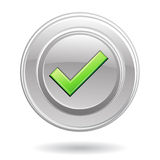 Green Tick Mark Stock Photography