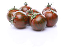 Green tiger tomato Royalty Free Stock Image