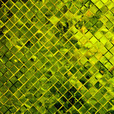 Green tile background. Stock Image