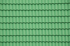 Free Green Tile Roof For Texture And Background Stock Image - 76132501