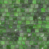 Green tileable tiles Royalty Free Stock Photos