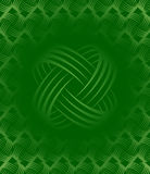 Green Tileable Wallpaper. Background Pattern vector illustration