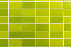 Green tiled background Stock Image