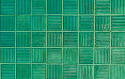 Green tiles Royalty Free Stock Photos