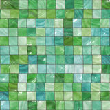 Green tiles background Stock Image