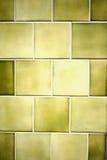 Green tiles Stock Photography